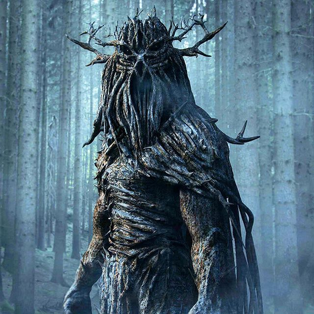 This guy rules the forest. #monsters
