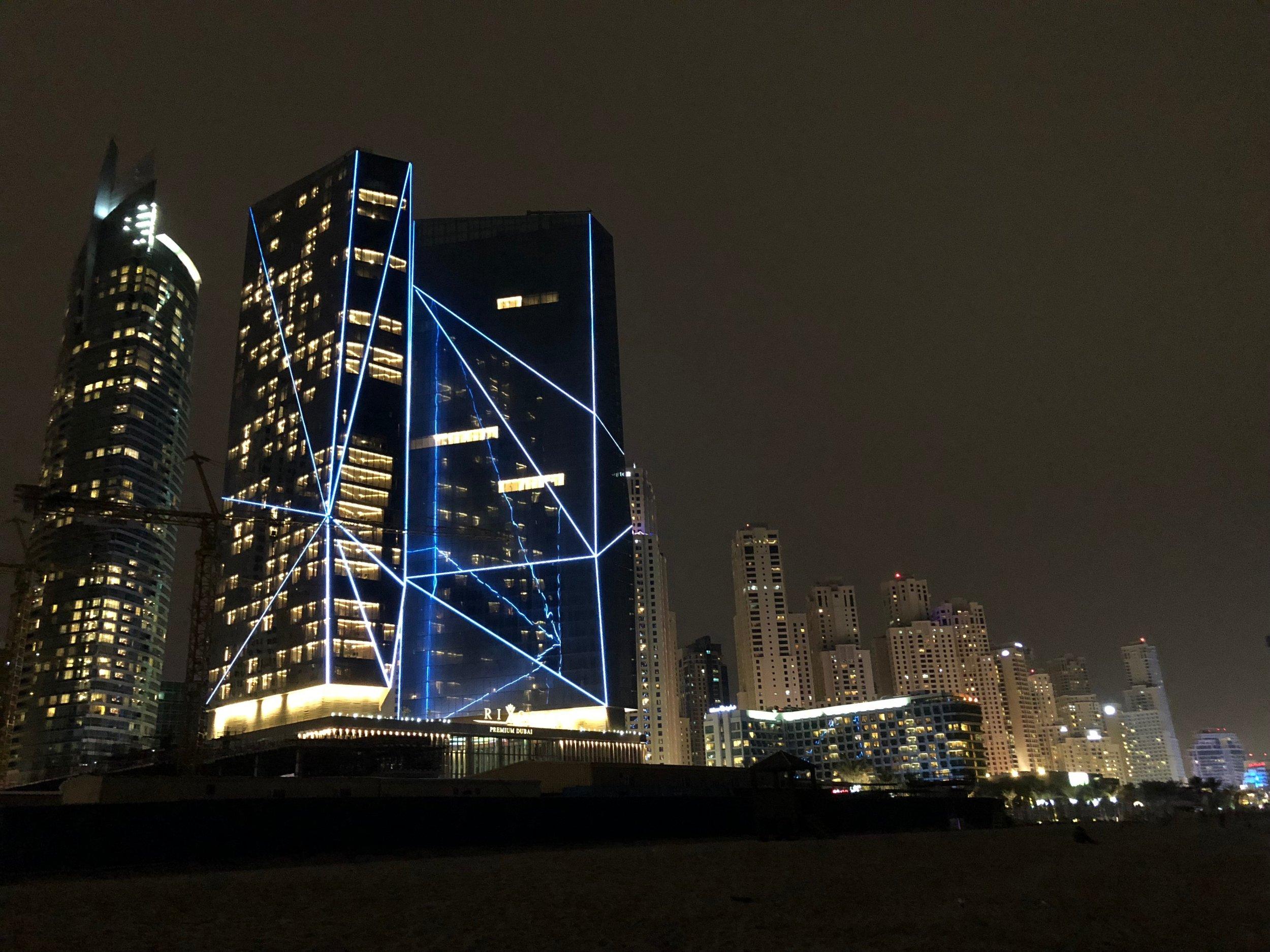 Dubai at night....