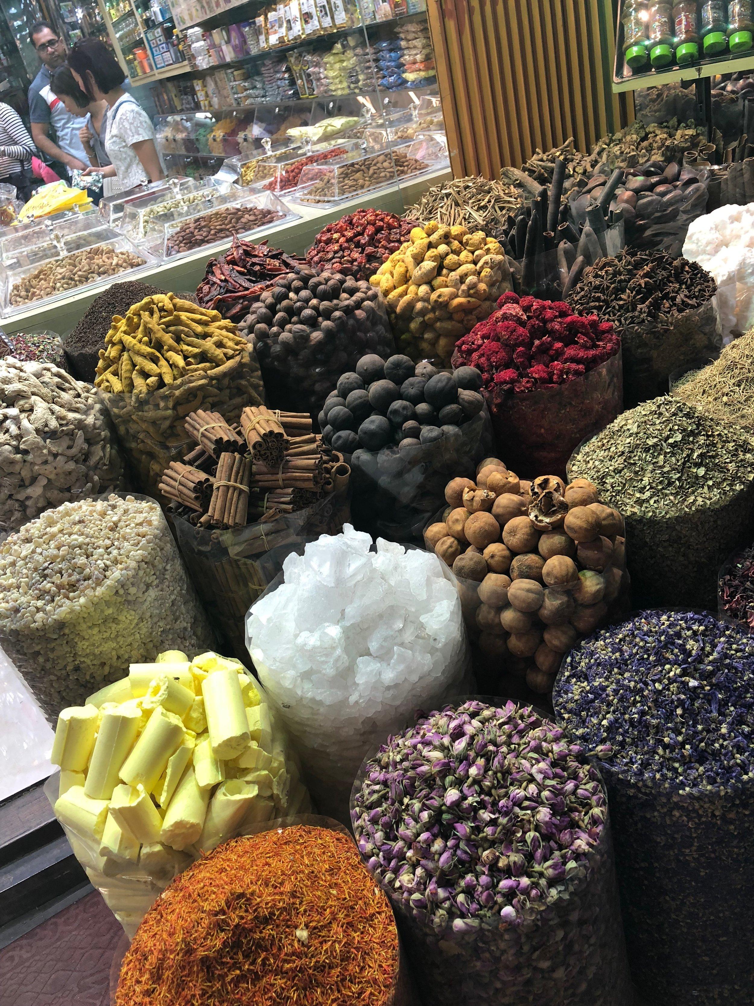 The spice market.....