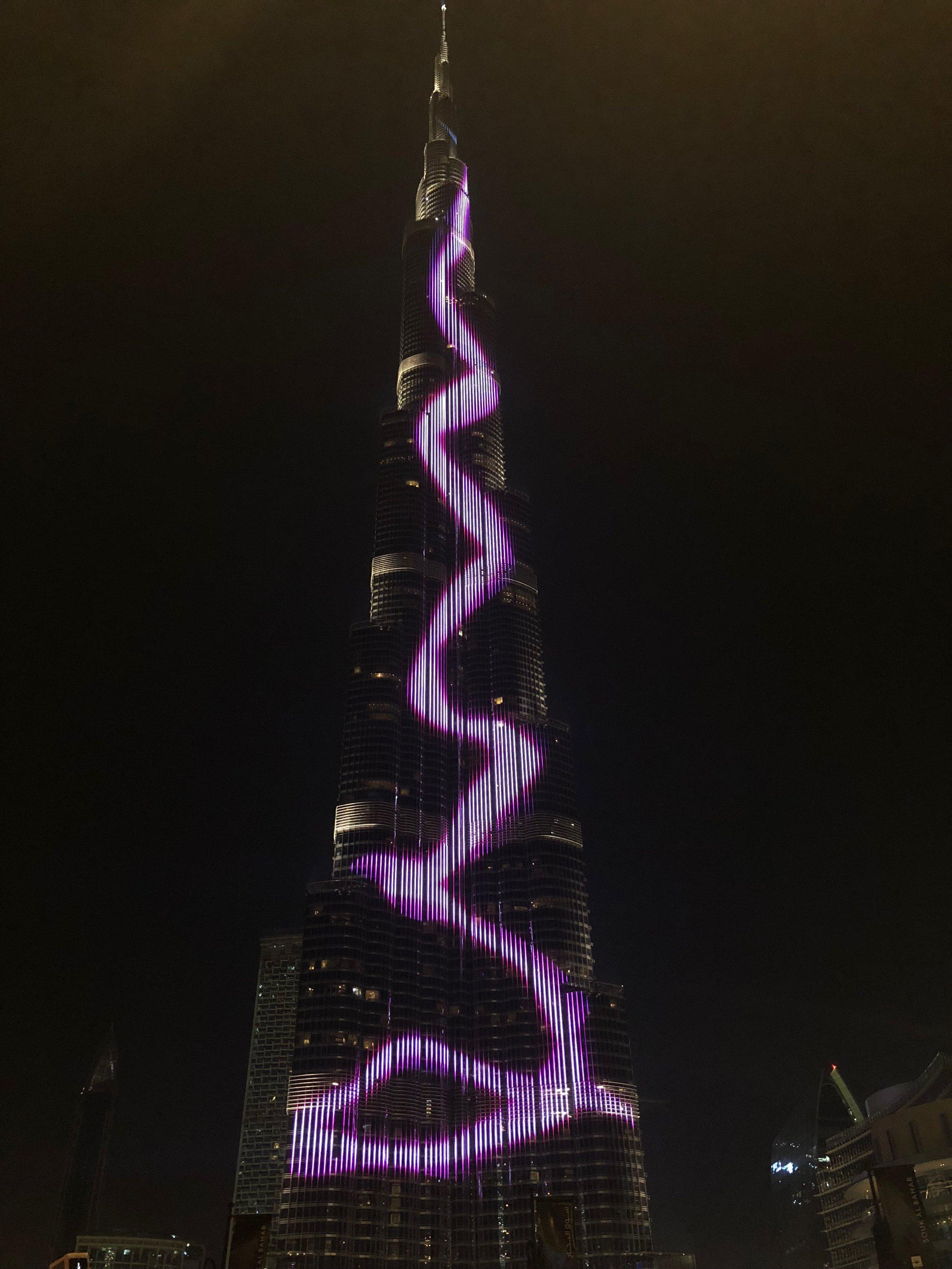 Burj Khalifa......160 stories high
