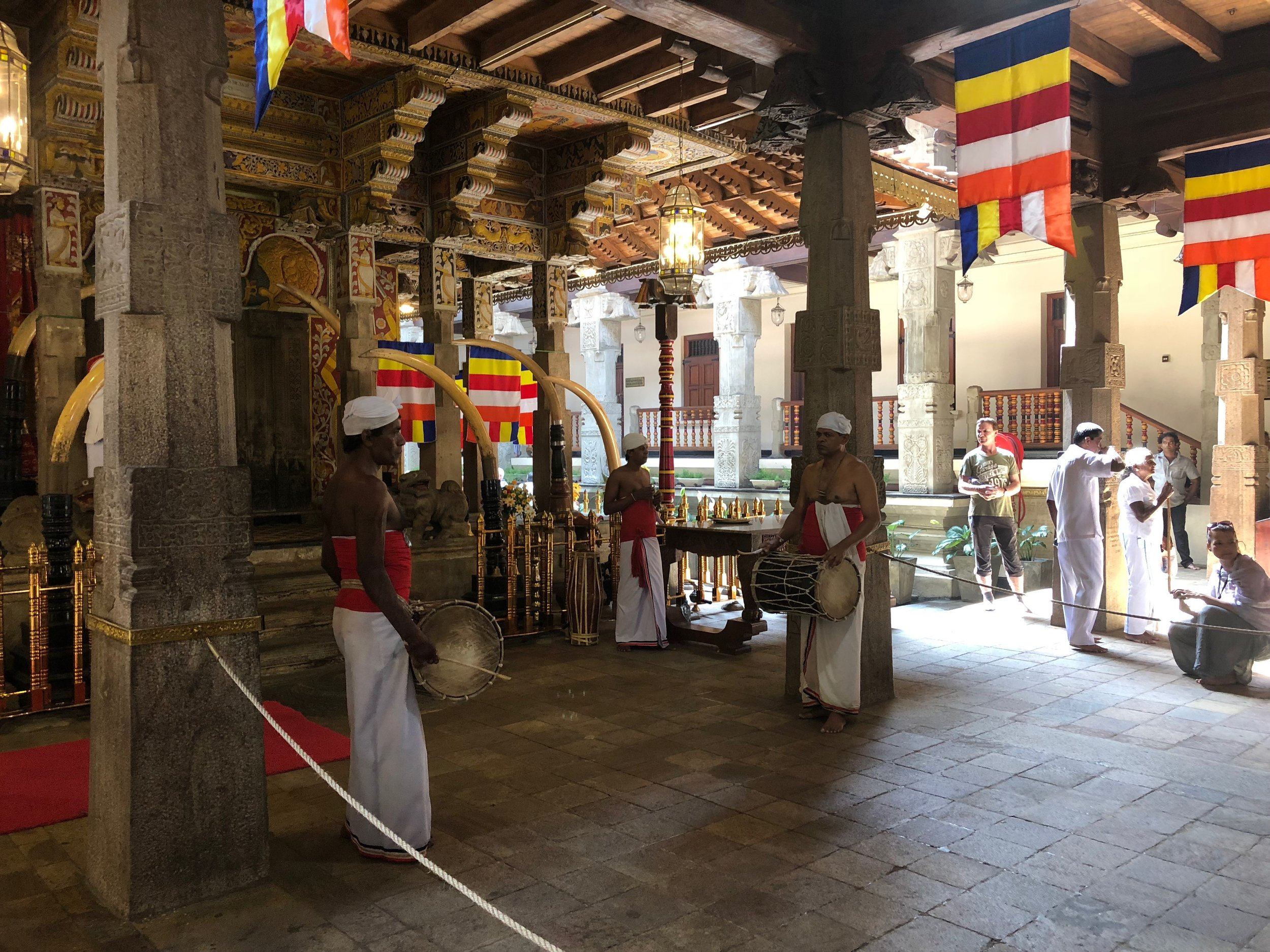 Inside of the temple.....