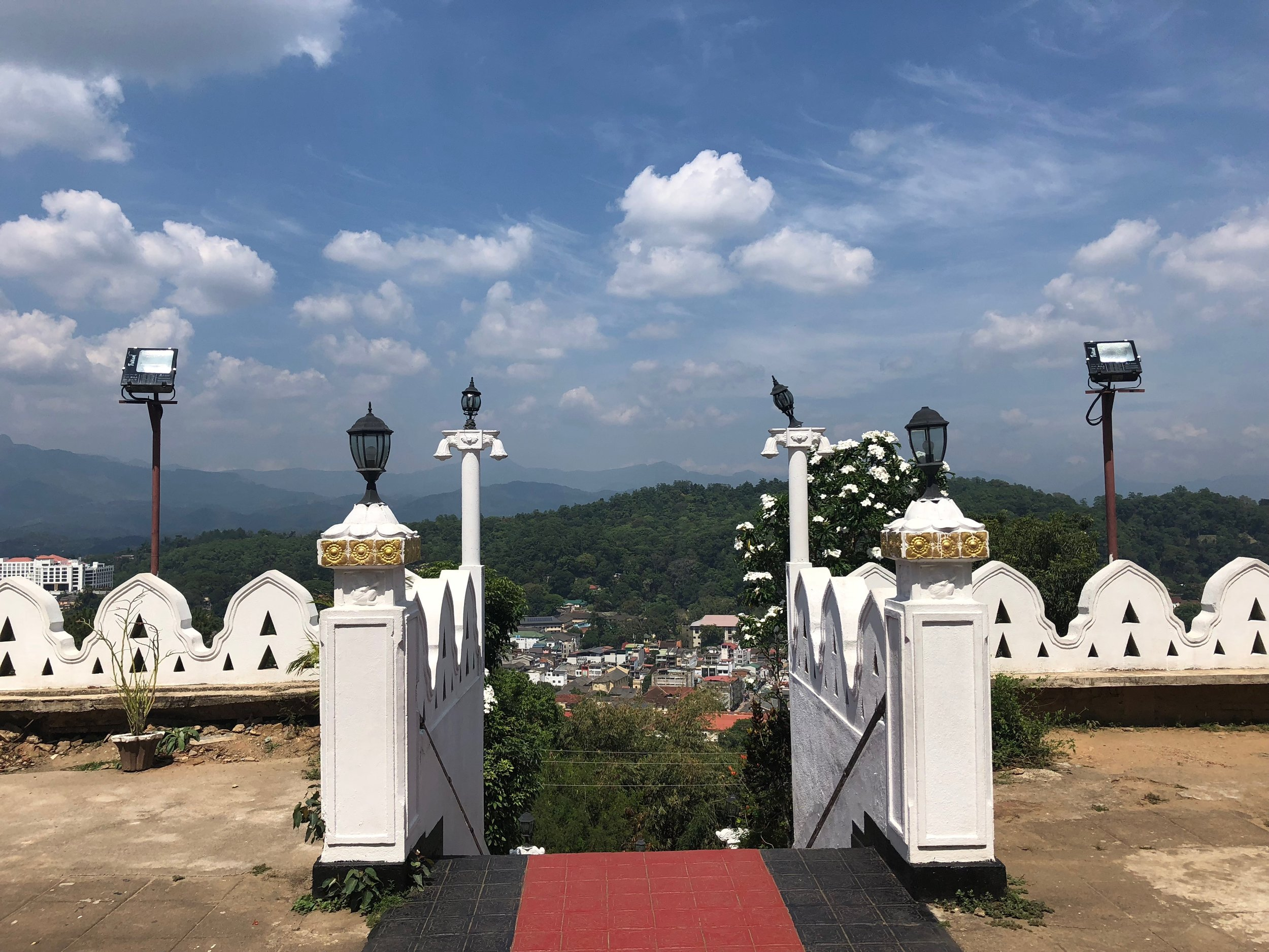 View from a big statue of Buddha seen from every corner of the city......too big to fit on a photograph..