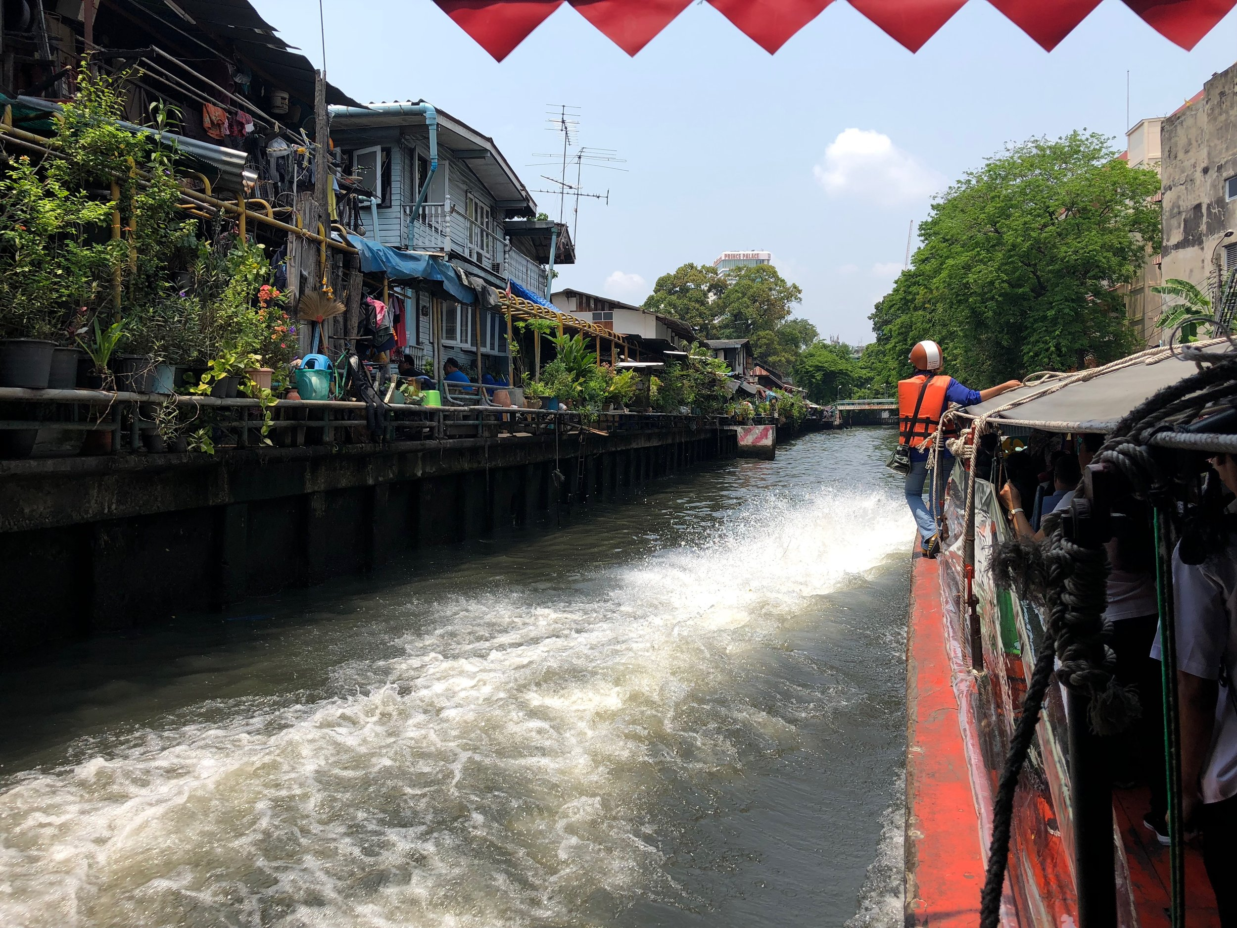 Bangkok boat ride