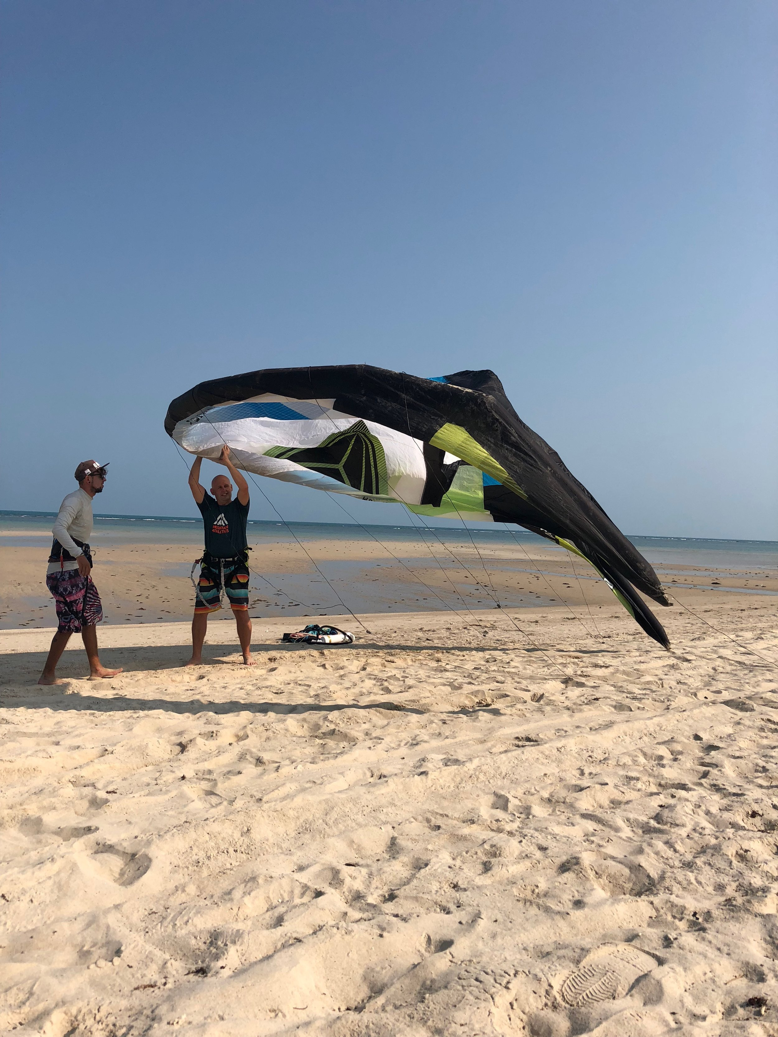 First kiting experience....