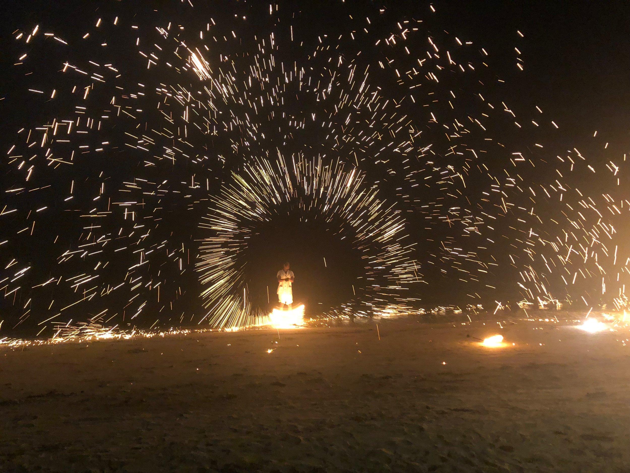 Full moon fire celebrations