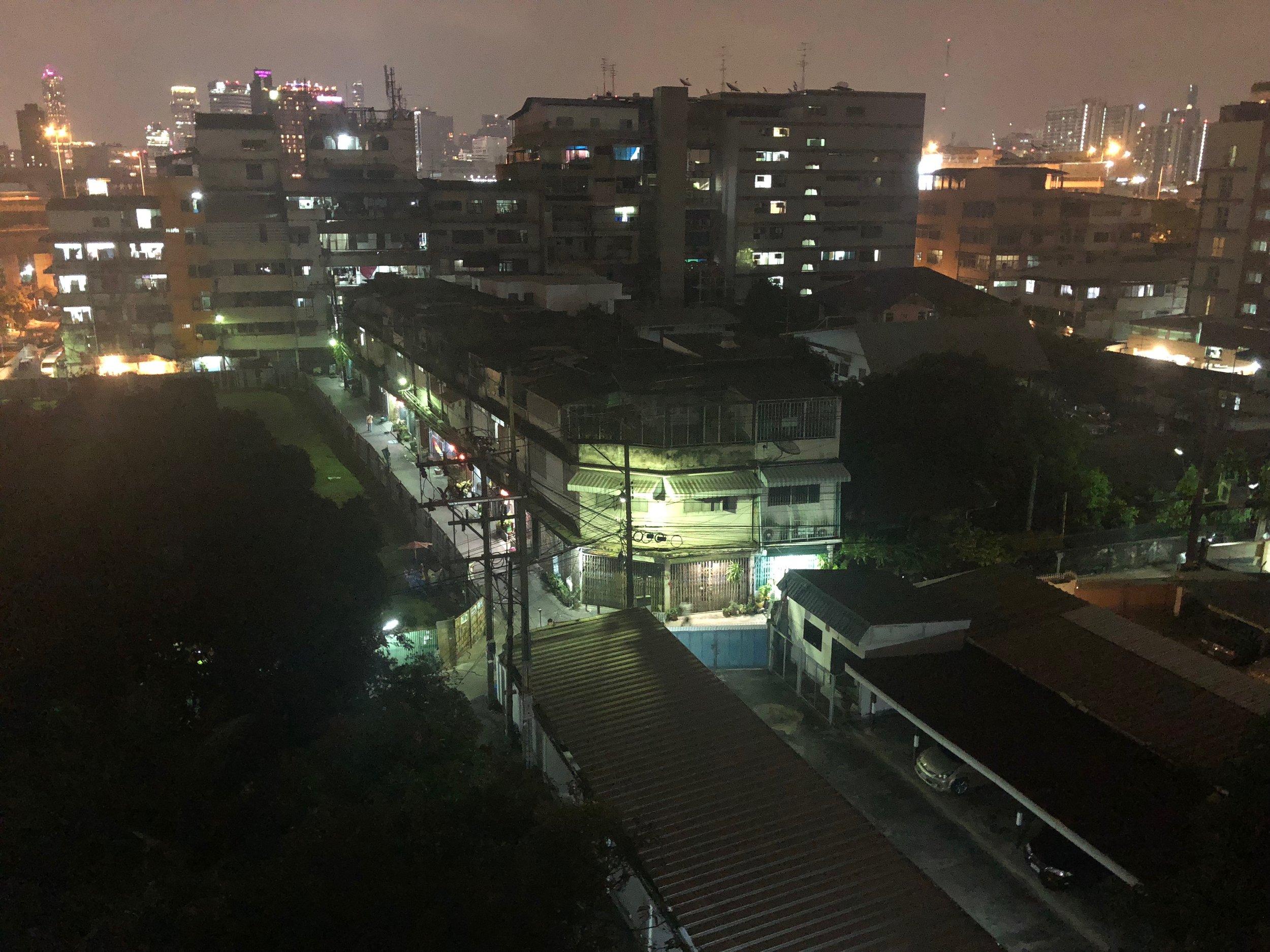 Our dodgy neighborhood in Bangkok