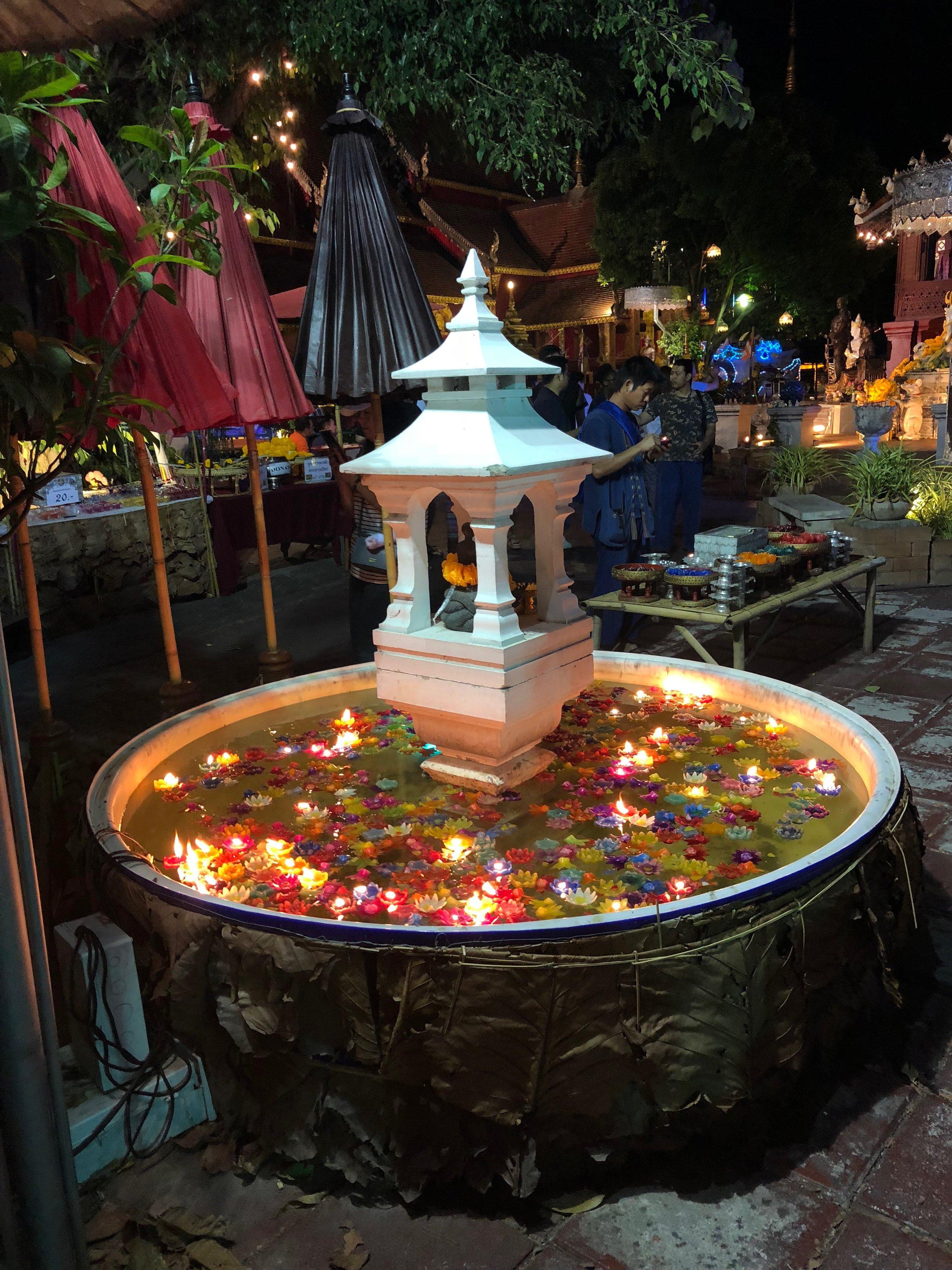Prayer fountain