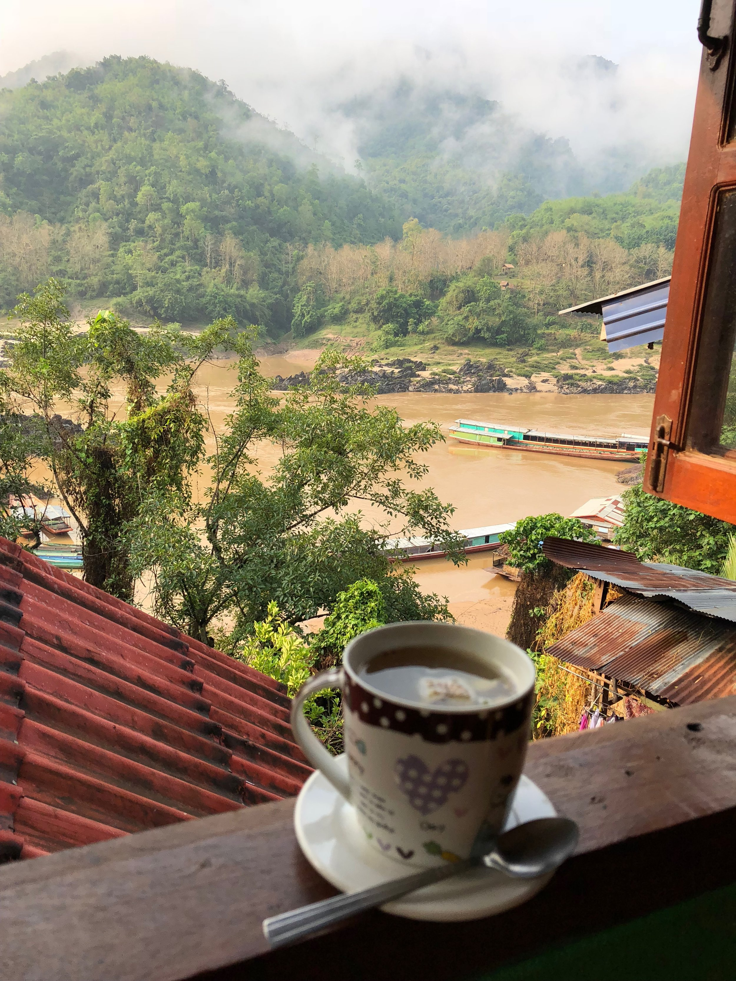 Breakfast with the view