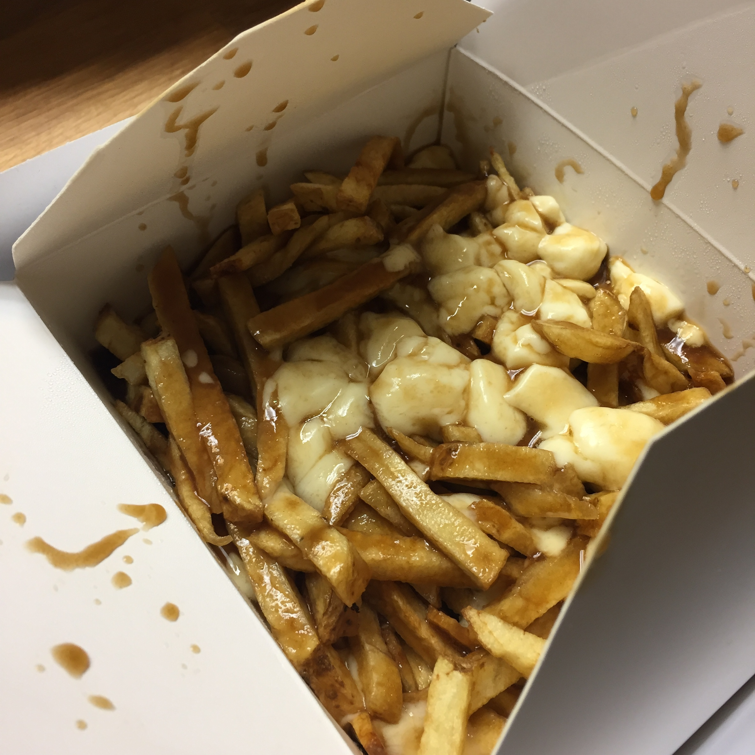 When in Canada...Poutine!