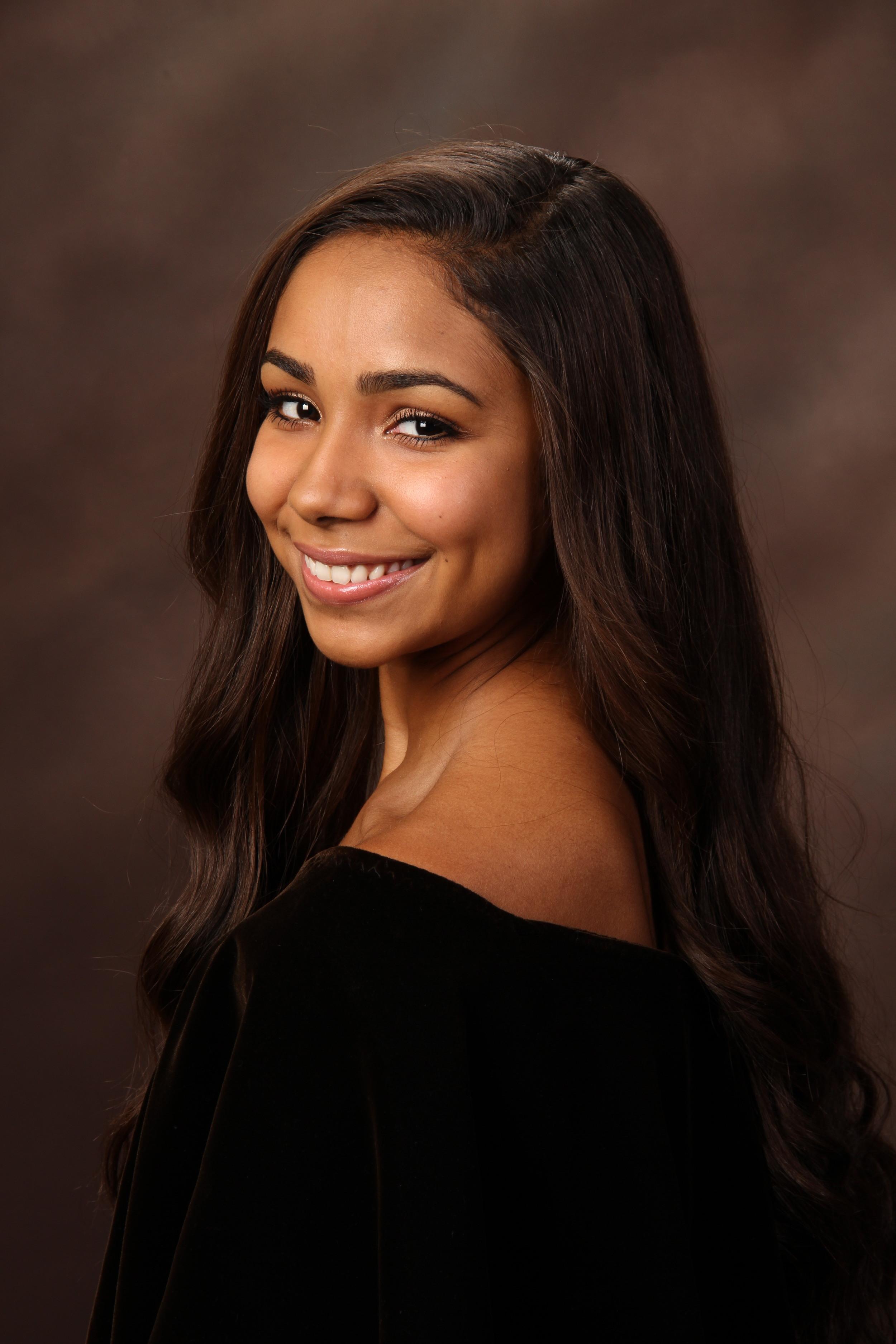 Girl Formal Senior Portrait 4