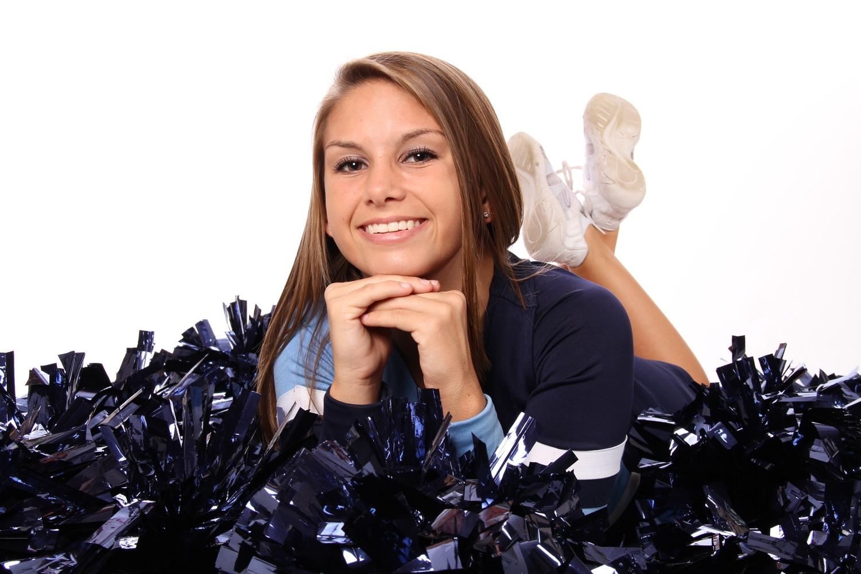 Cheerleader Senior Portrait