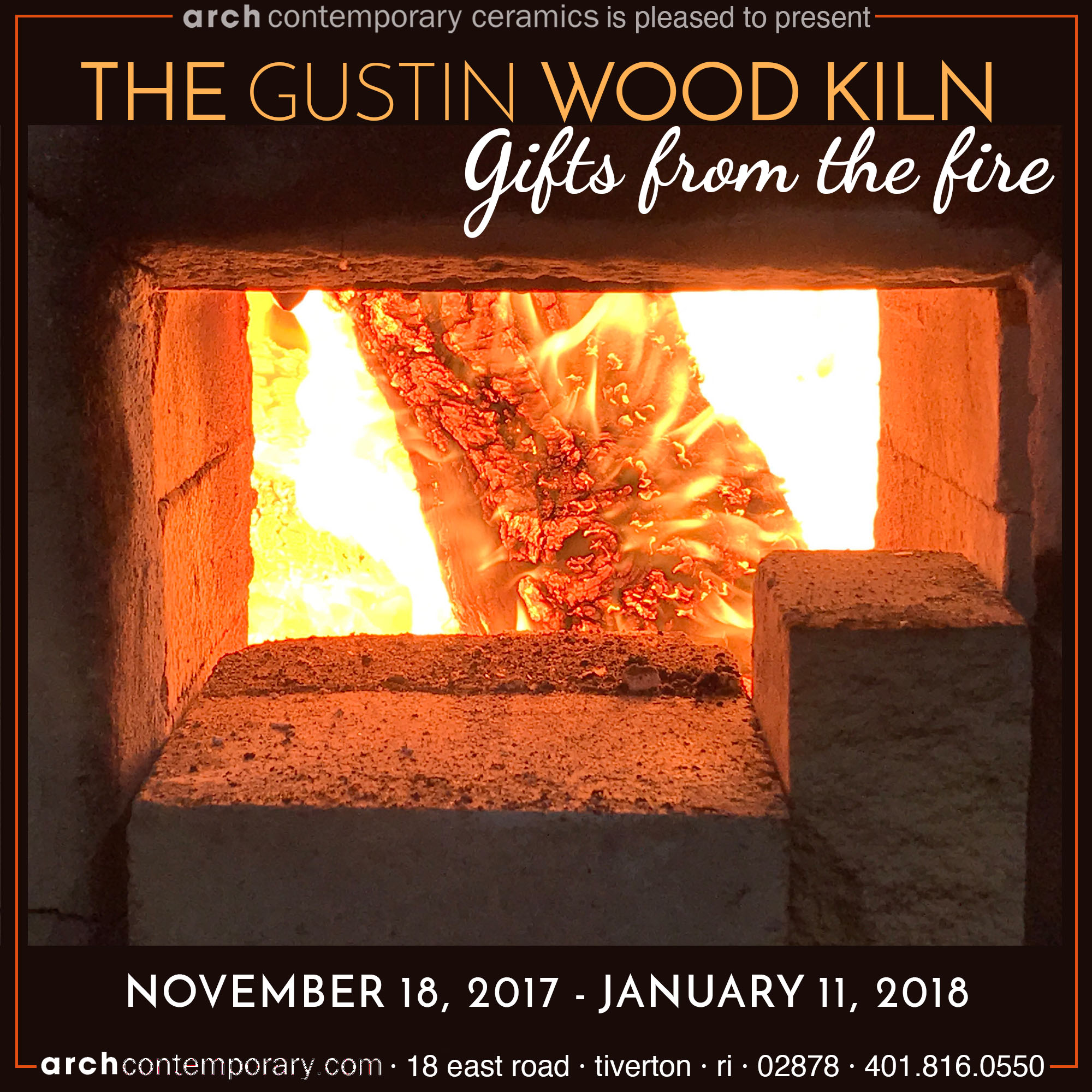 THE GUSTIN WOOD KILN: GIFTS FROM THE FIRE