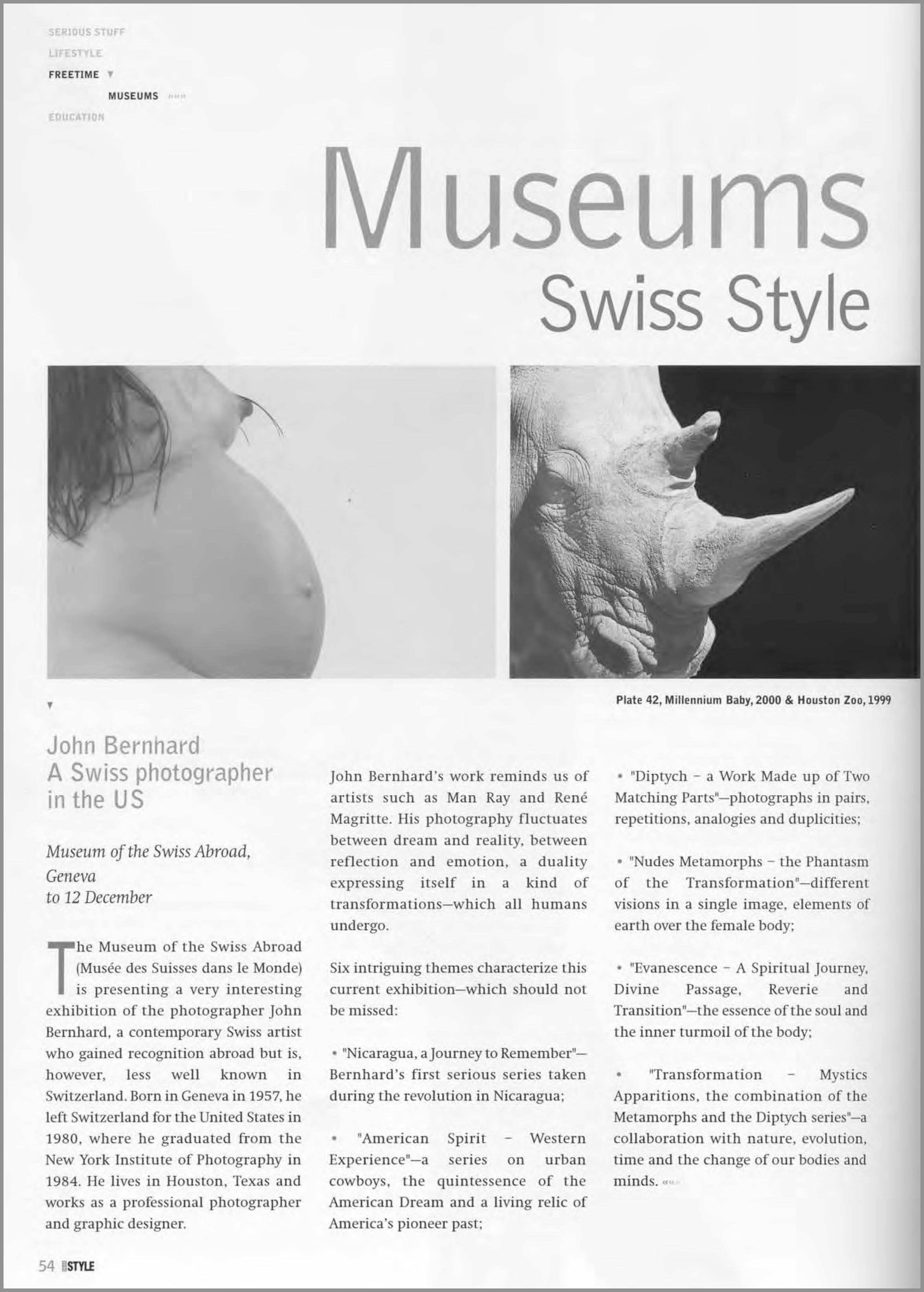 Museums Swiss Style