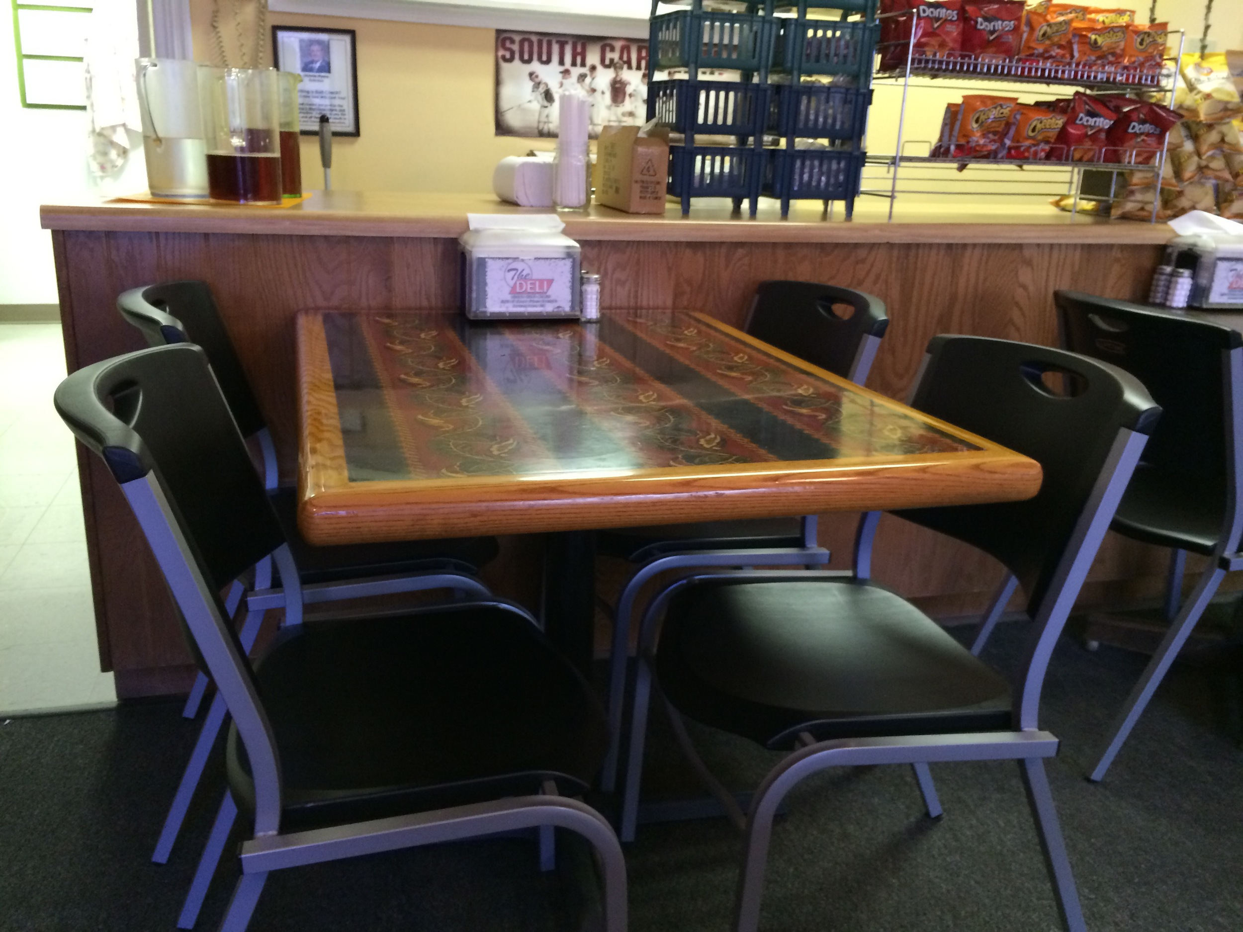 We have a table waiting for you!