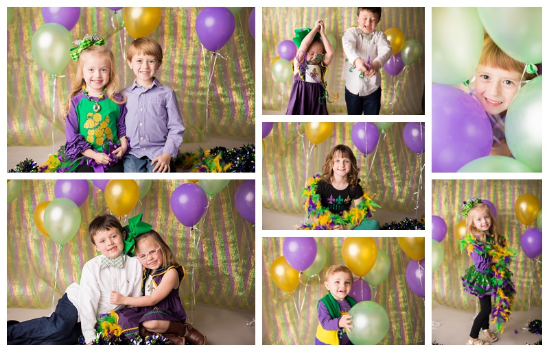 Mardi Gras Mini Sessions