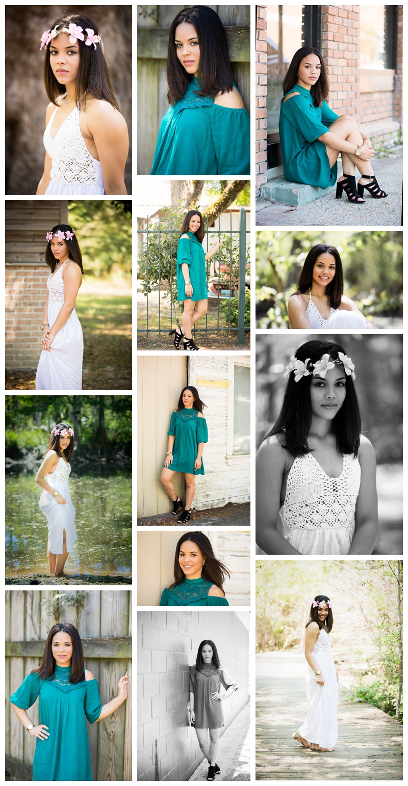 High school senior photographer slidell