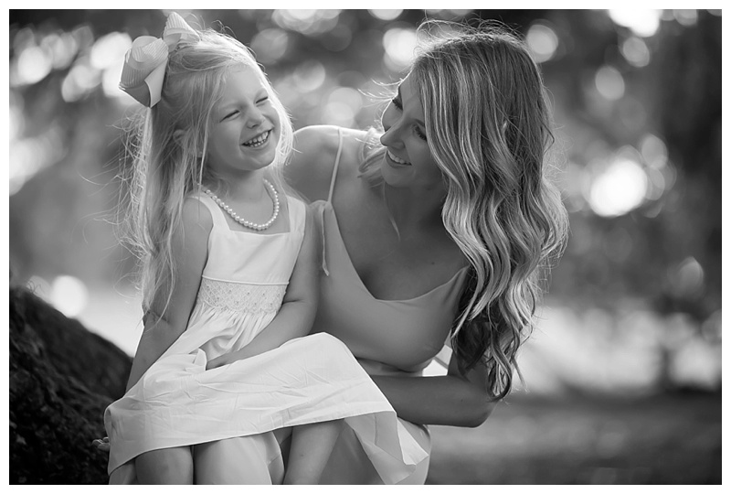 Mom and Daughter bond