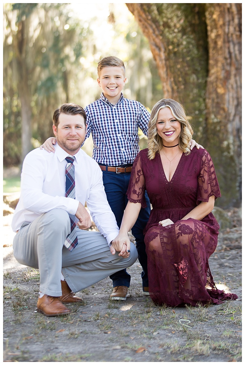 Family Photoshoot with great outfits