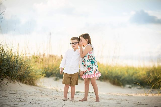 Mr. Hudson and Miss Layla thought it was so funny to share sibling secrets in Bay St. Louis.  I'm pretty sure she's telling him that he stinks or something! 😂  Truth is though, this is a subliminal message to my Honey.  Whispering...take me back to the beach! Hope he catches on @rouse3239