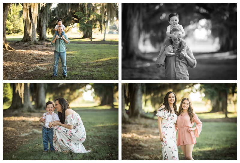 Full Family Session Fontainebleau State Park