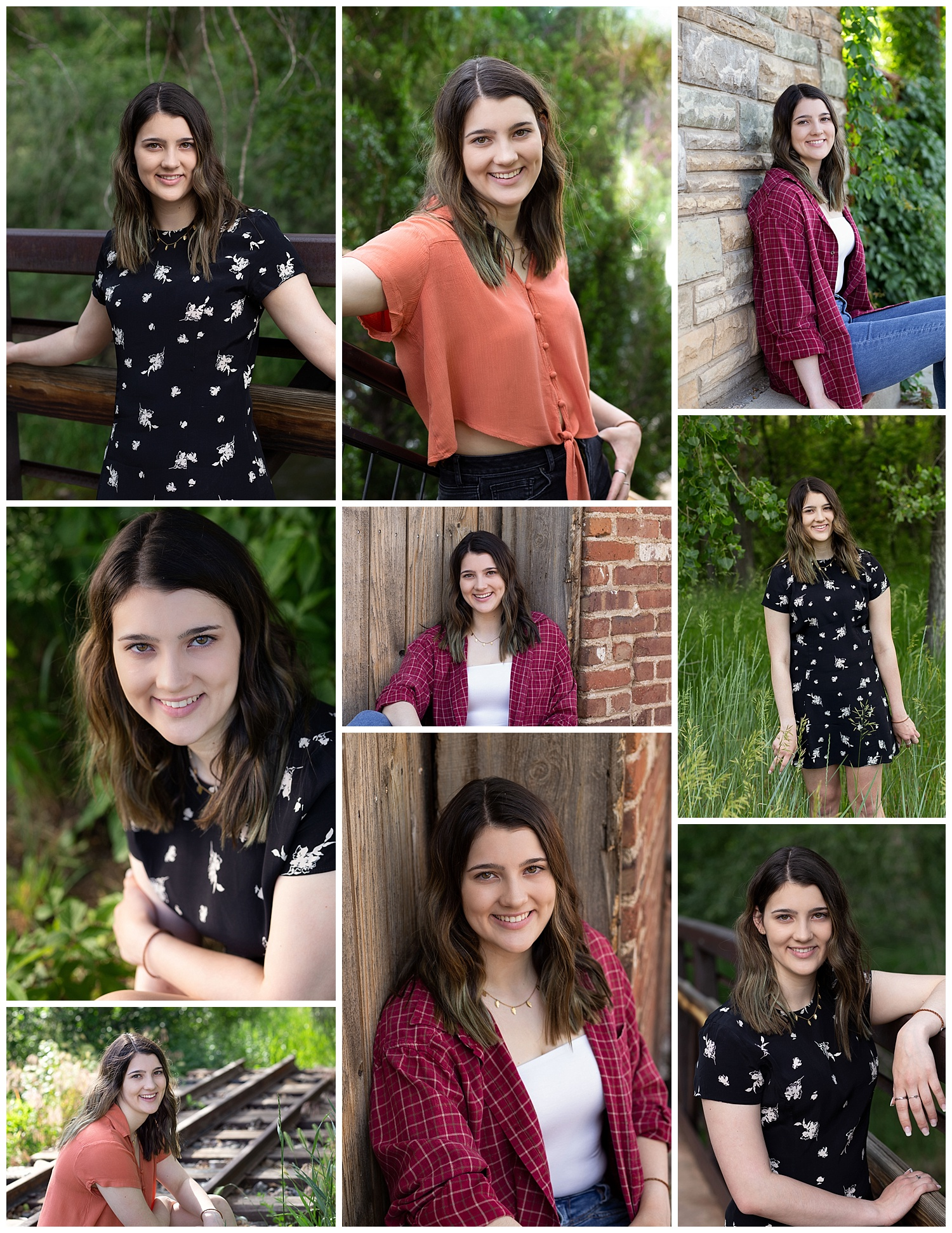 Kate had her high school senior photos taken on June 29, 2019…Kate did a Best Friends session with Nichole (featured below!)