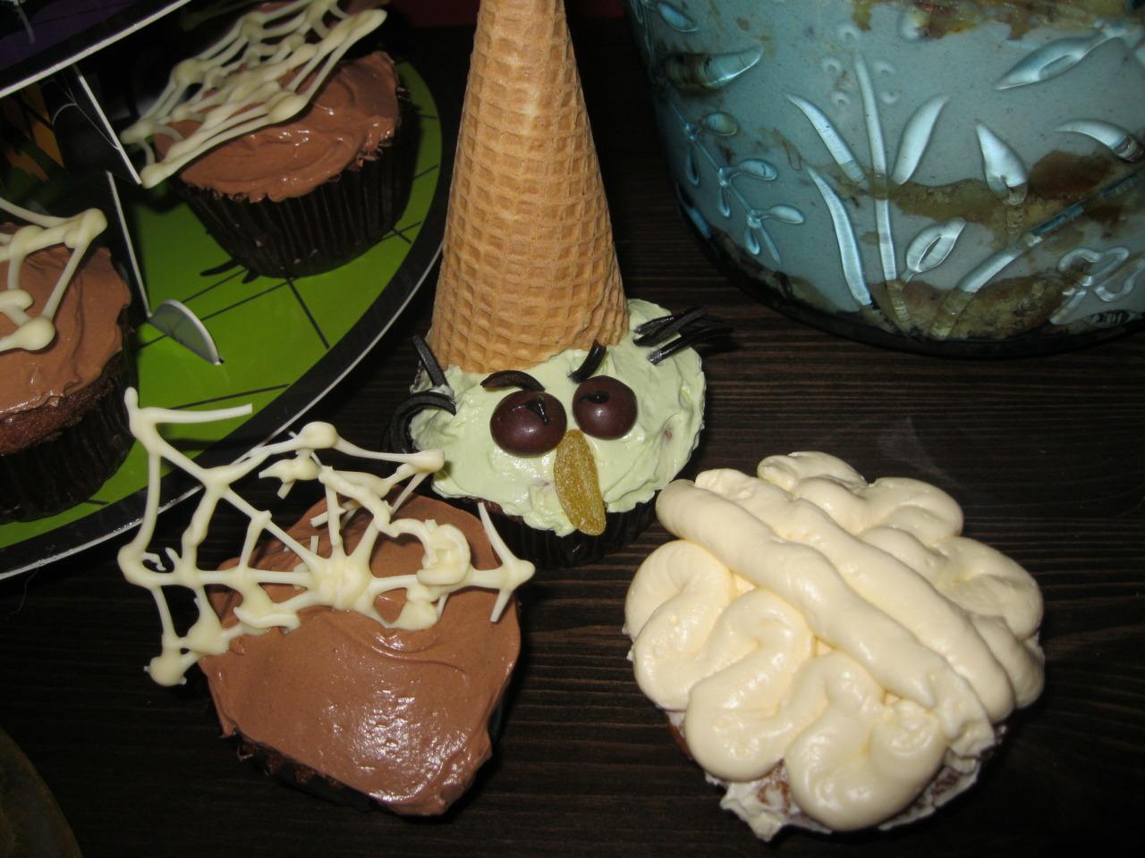 Halloween Ahornsirup-Cupcake Trio!