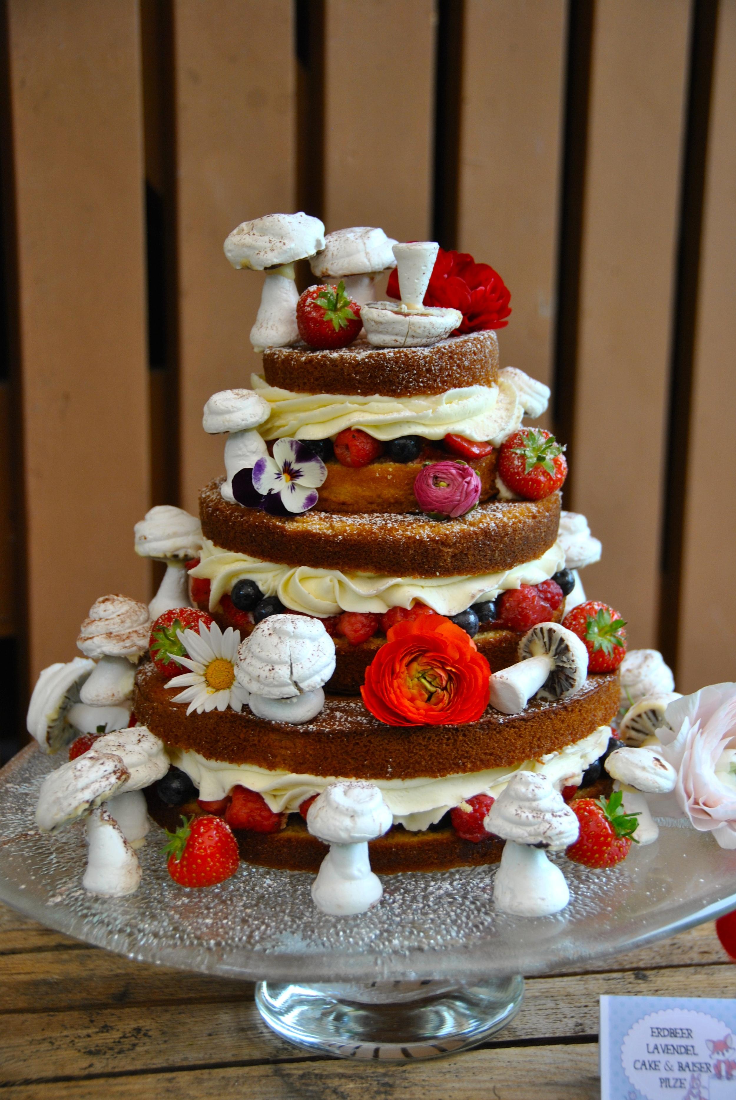 Woodland Baby Shower Cake