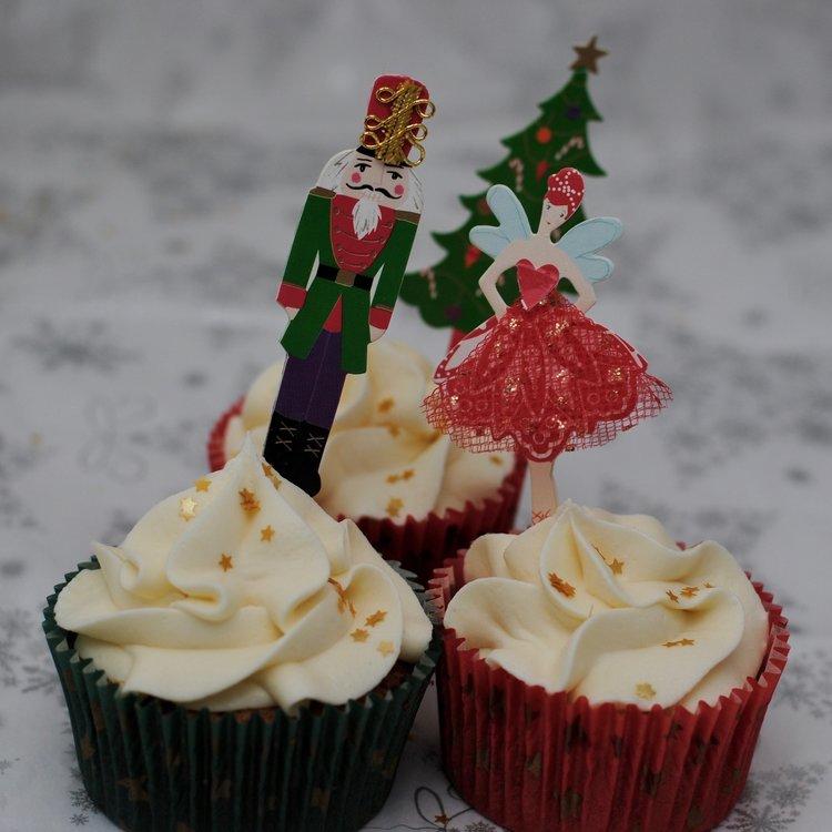 Kastanien Mandarinen Cupcake