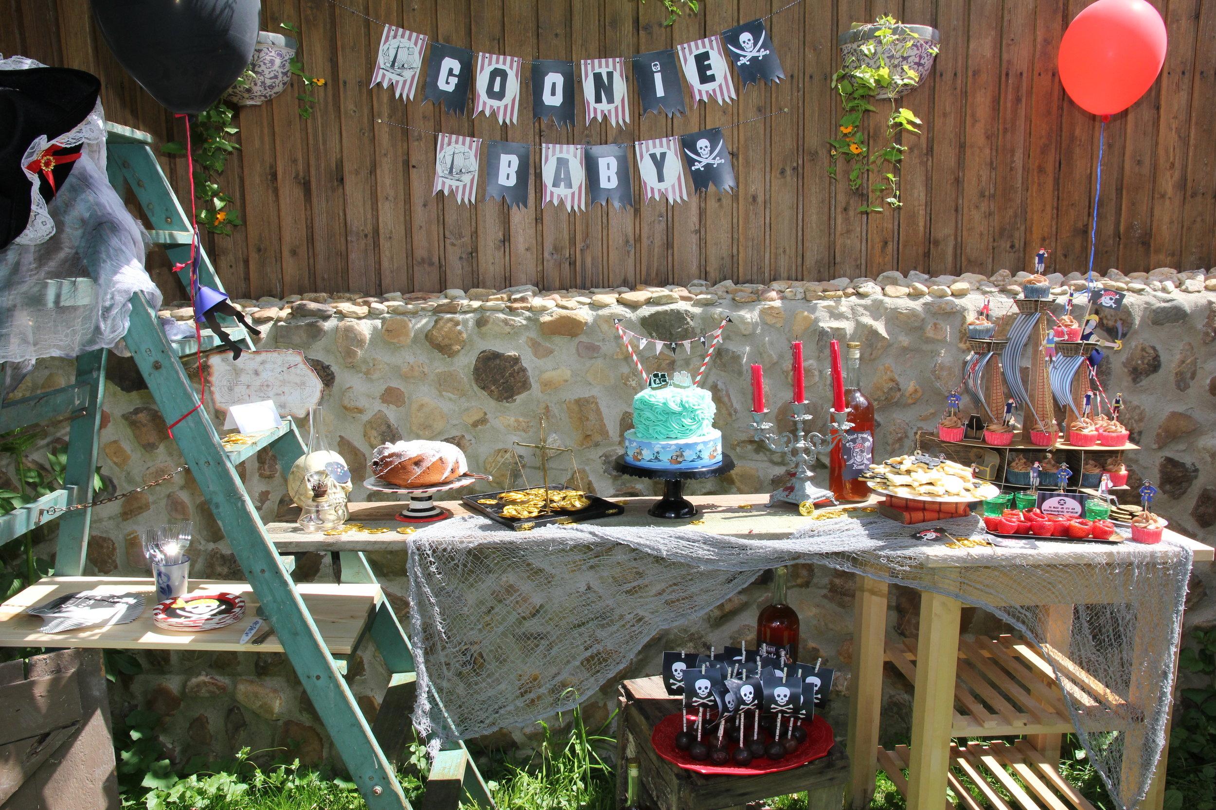 Piraten Goonies Baby Shower Sweet Table.jpg