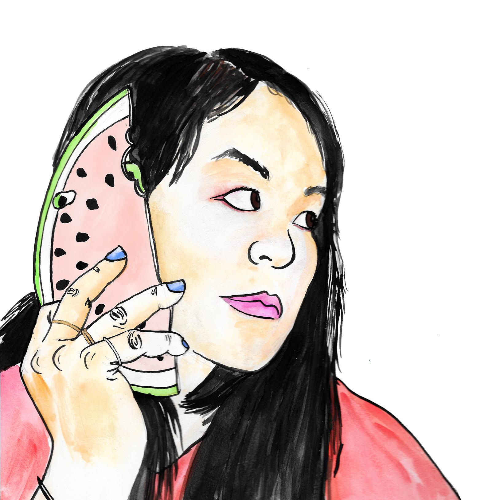watermelon phone
