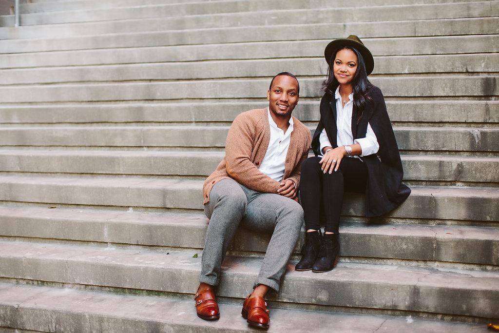 Spellhouse Couple |  Atlanta Georgia Engagement Session