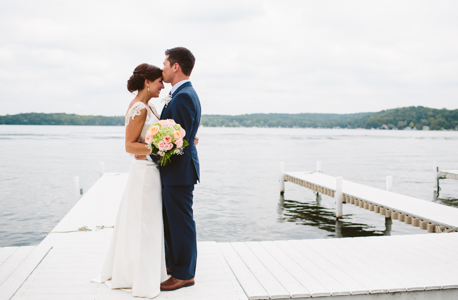RYAN & KAYLA -  Shelbyville MI Lakefront Wedding