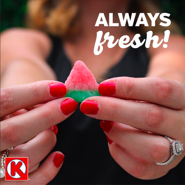 """You can find these perfect summertime snacks from Circle K, seedless all year round."""