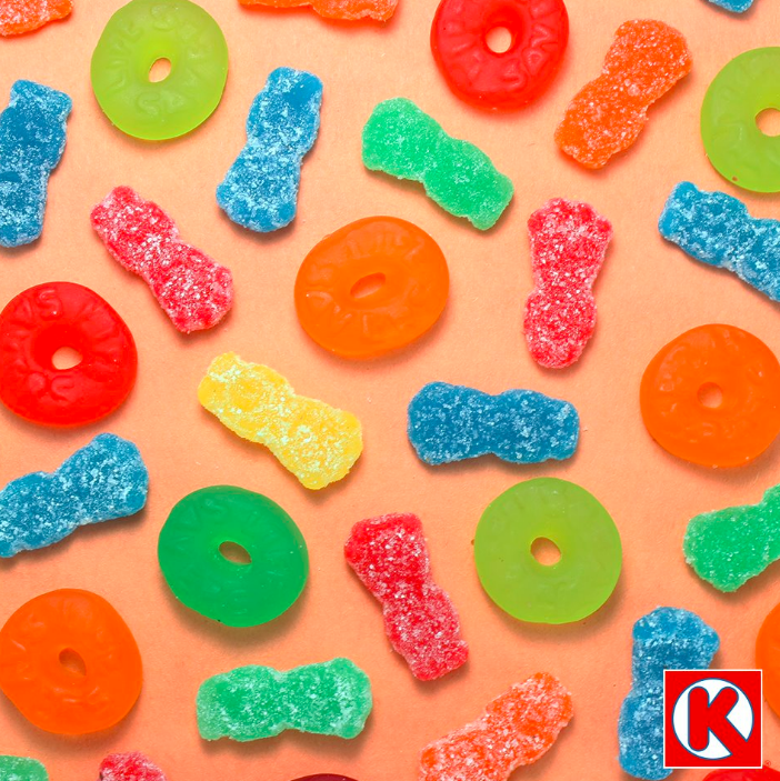 """Sour or sweet, Circle K has all the chewy treats. Which gummy is your favorite?"""