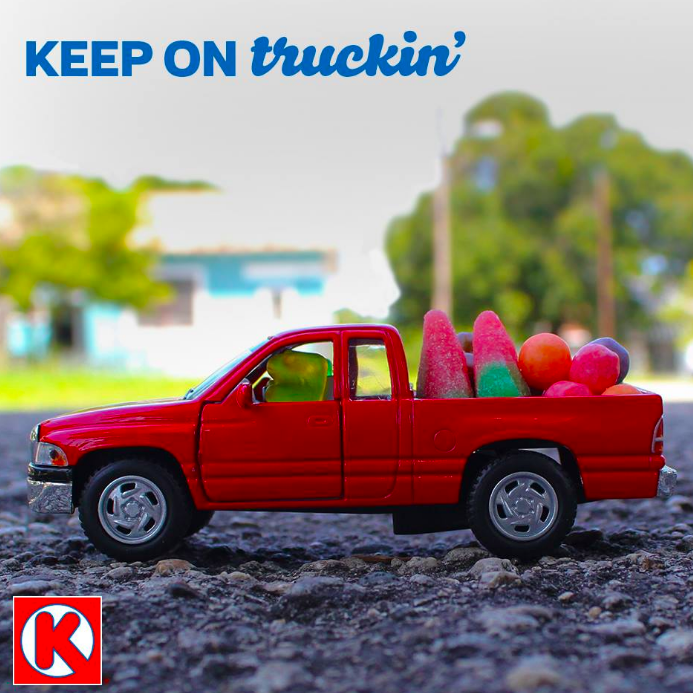 """Make any drive into a joyride by tanking up with your favorite Circle K treats!"""