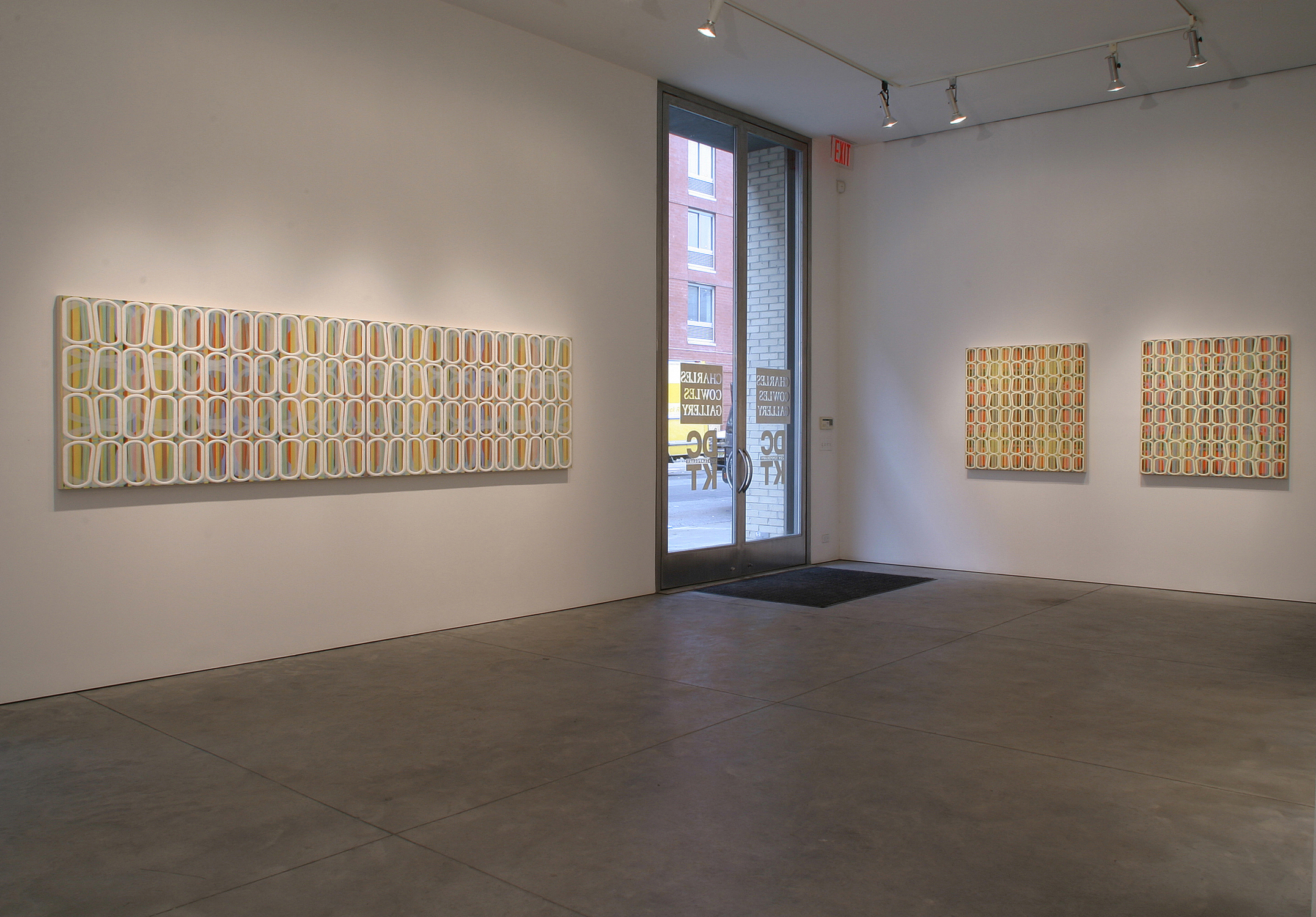[installation]  Semper Augustus, 2004 Oil and encaustic paintings imensions variable