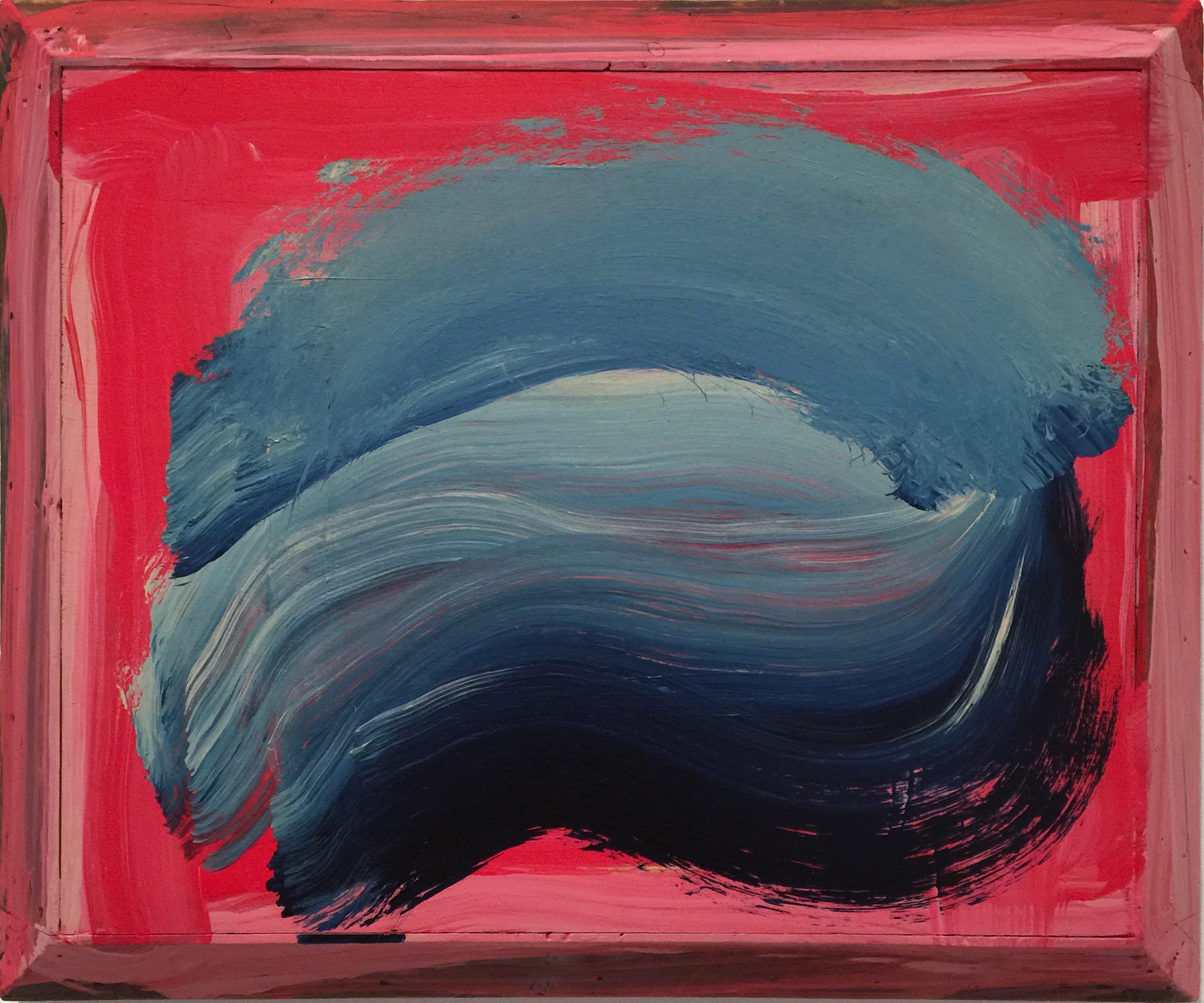 A small gem by Howard Hodgkin.