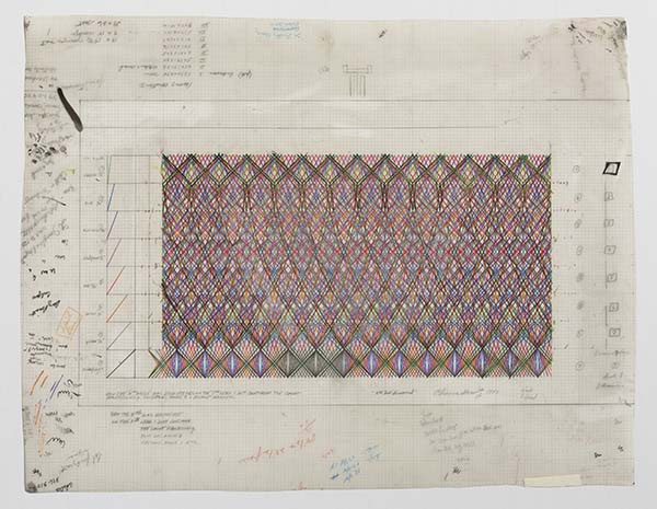 Channa Horwitz, 8th Level Discovered, 1982