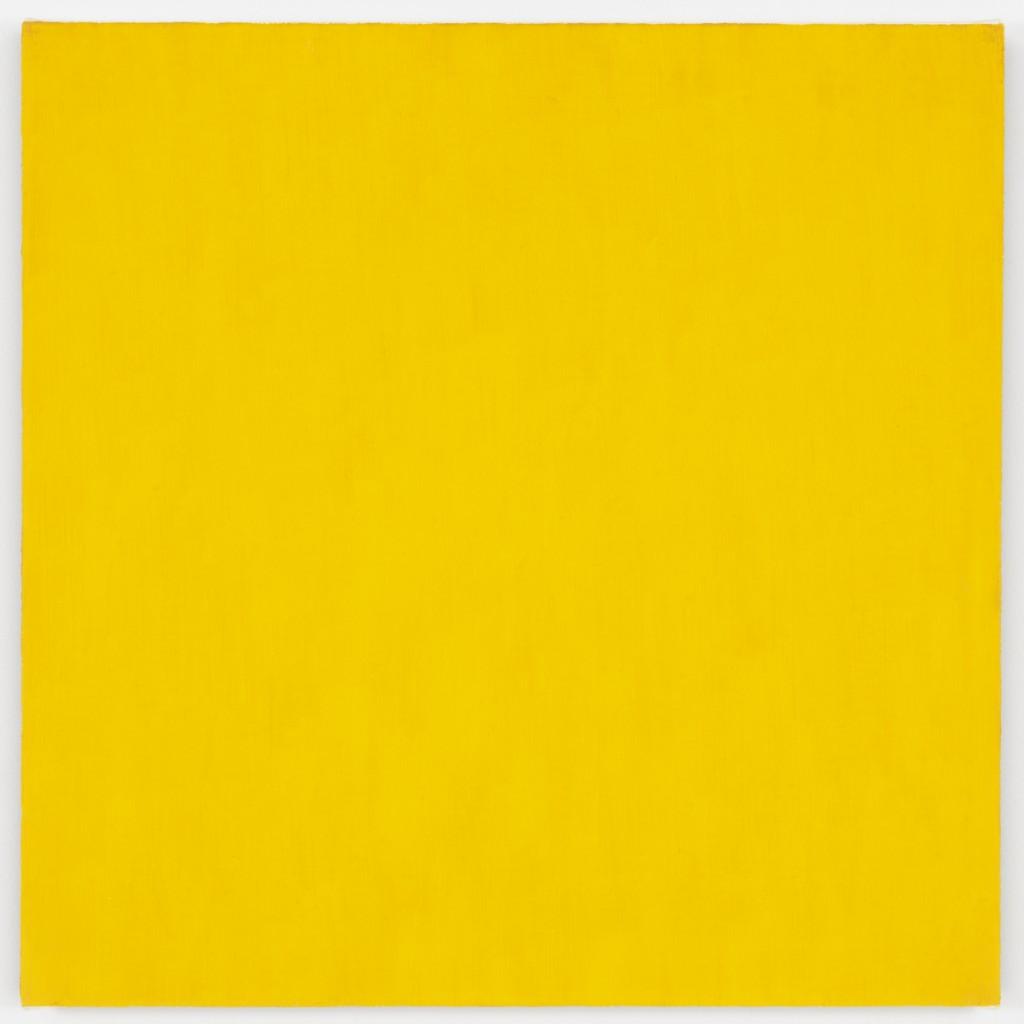 Marcia Hafif, Mass Tone Painting: Cadmium Yellow Medium, Oct 2, 1973, 1973