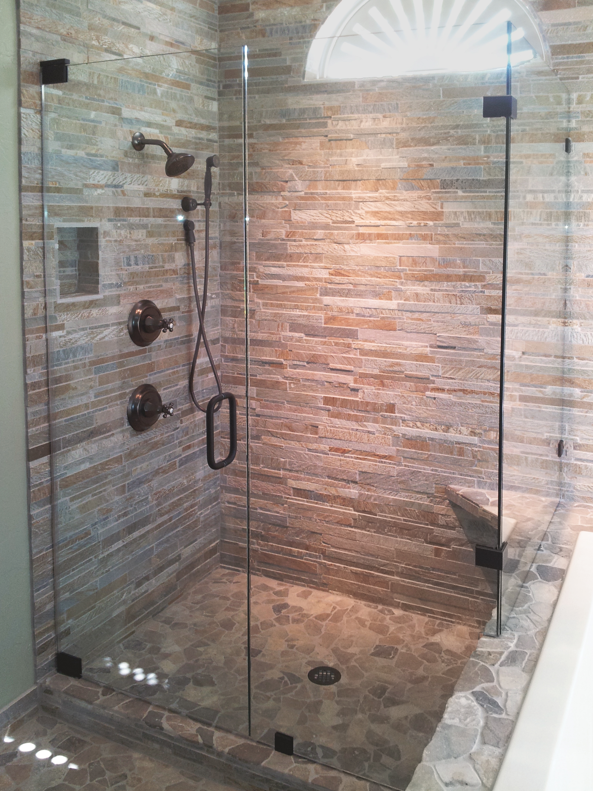 90 Degree Glass Shower Enclosures Shower Doors Of Dallas