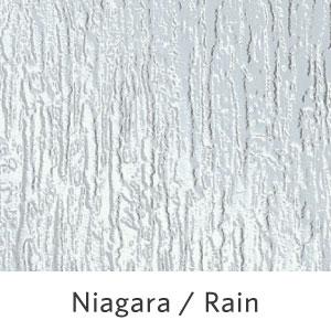 Niagara / Rain Pattern Glass