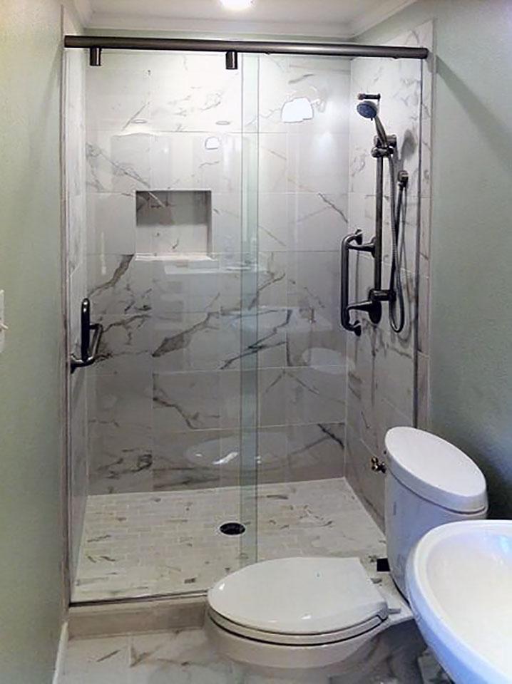Hydroslide Glass Sliding Shower Door