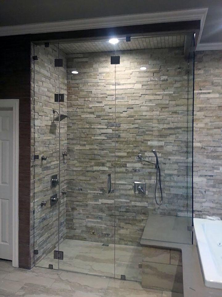 Custom Steam Shower Enclosures Shower Doors Of Dallas