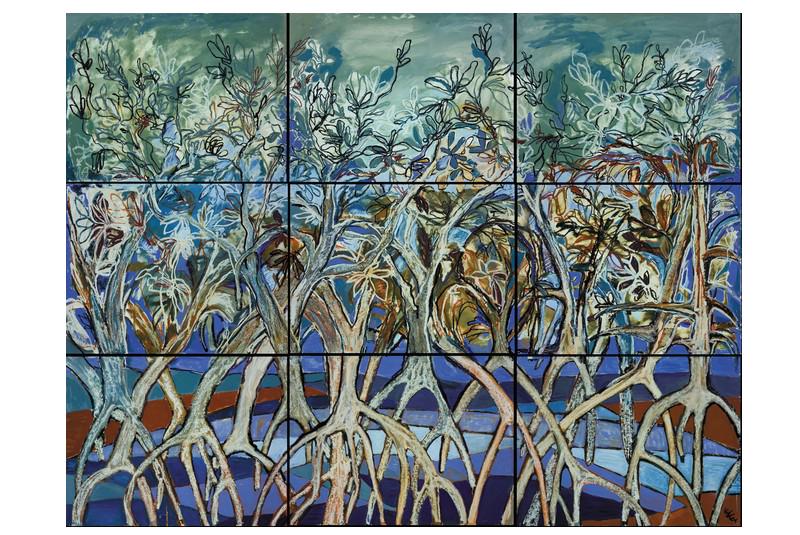 Mangroves Collage I