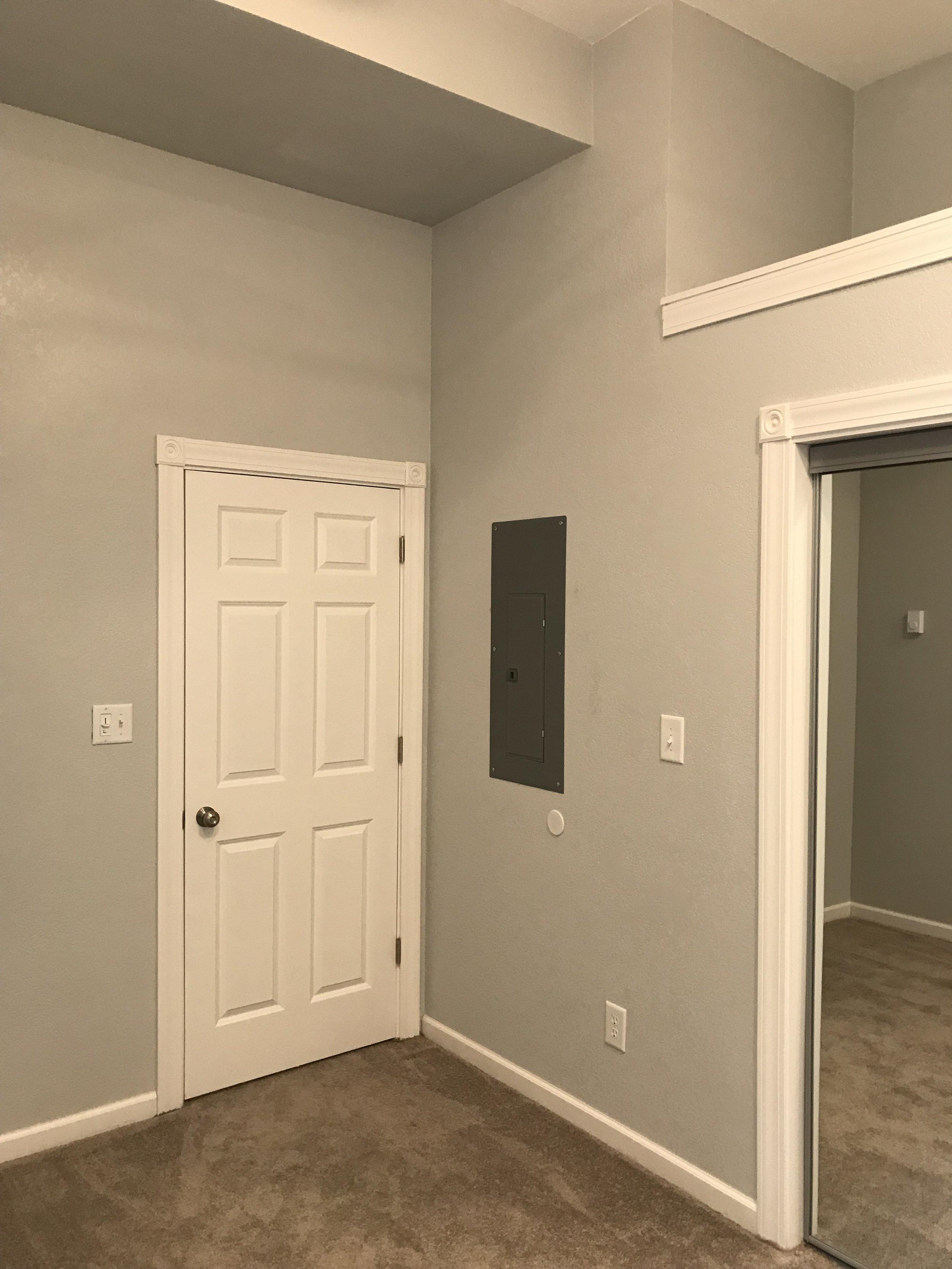 Bedroom - Extra Storage above closet