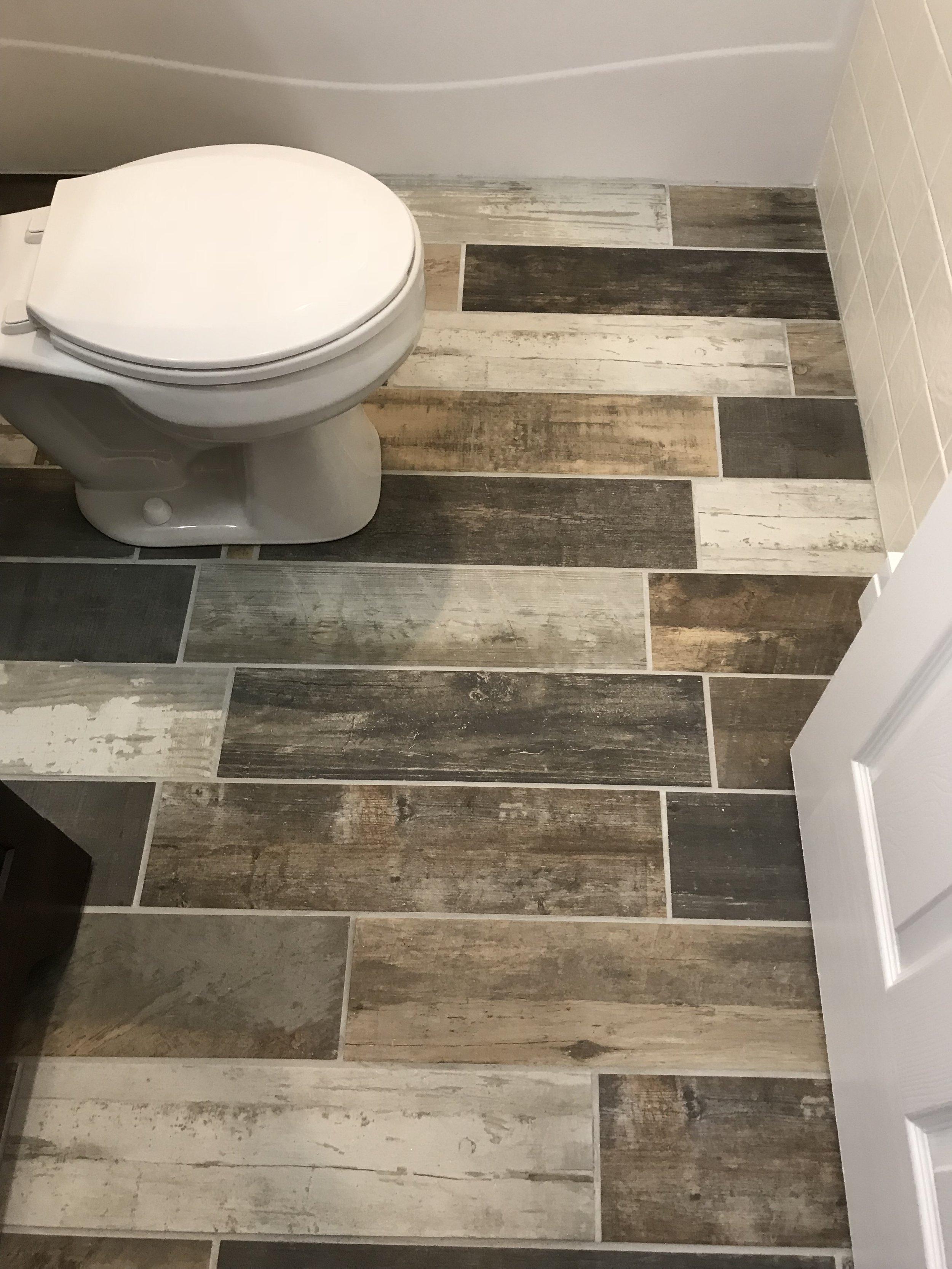 "Ceramic Plank ""wood"" flooring"