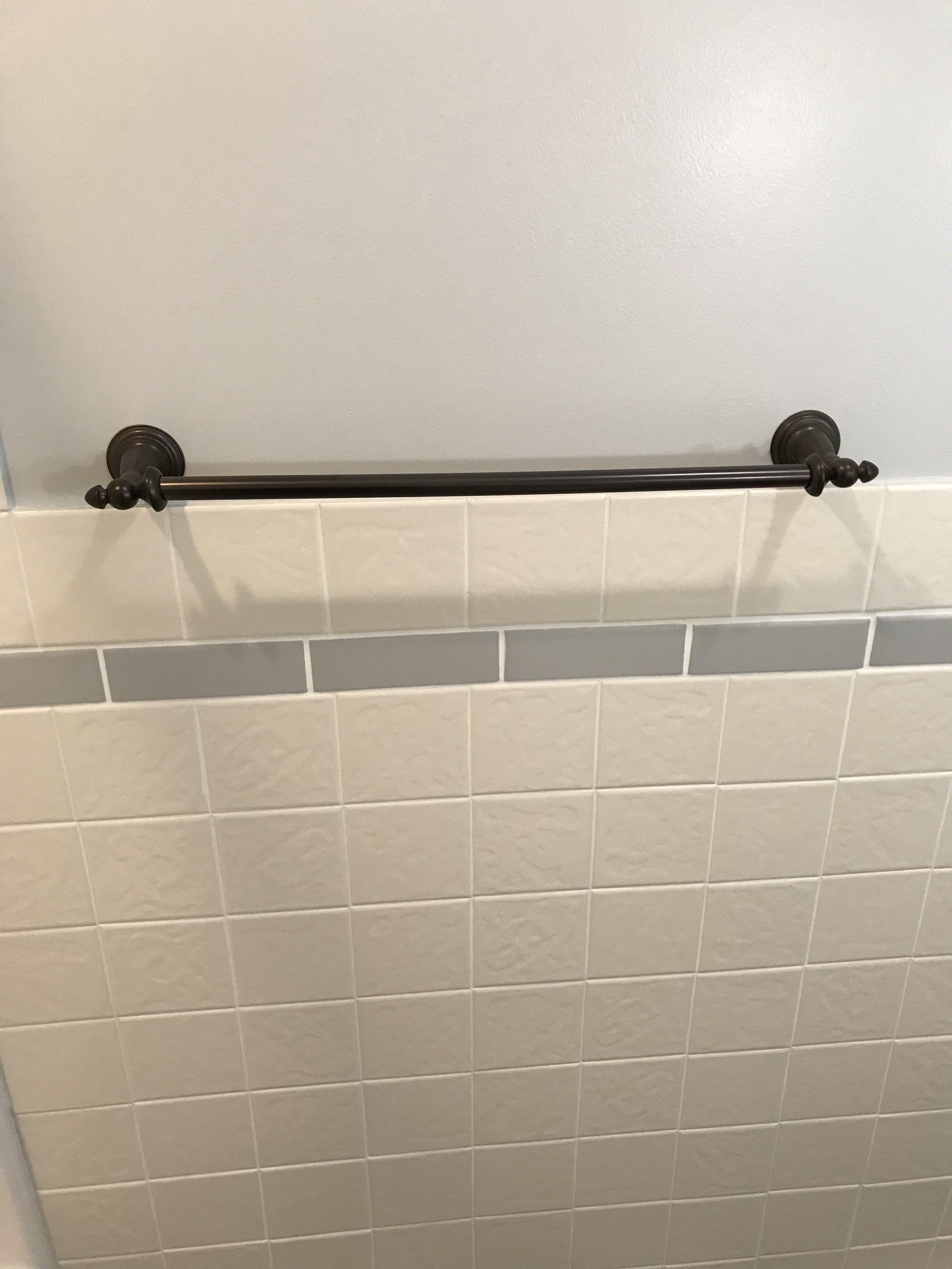 Upgraded bath fixtures