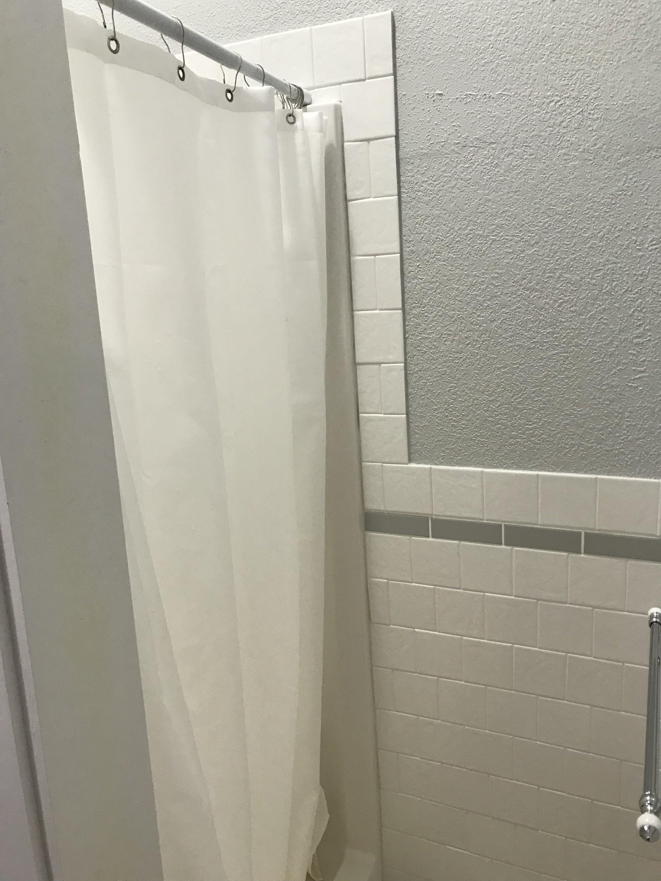 One piece shower unit