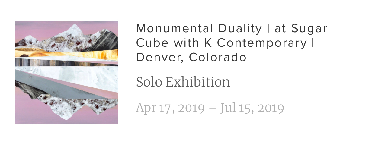 Check out Sarah's current solo exhibition if you're in the Denver area.