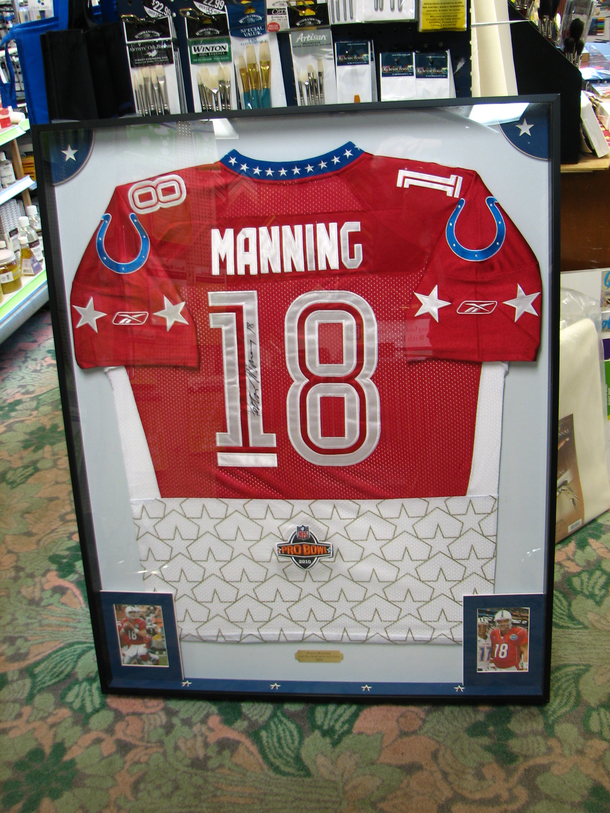 Payton Manning All-Star Jersey